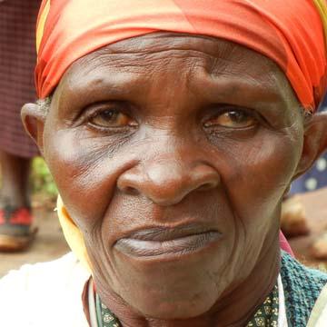 Woman from Gitombo Village